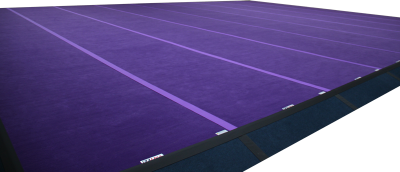 Cheerleading Flex Floor Area - Mats Only