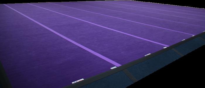 Cheerleading Flex Floor Area - Mats Only