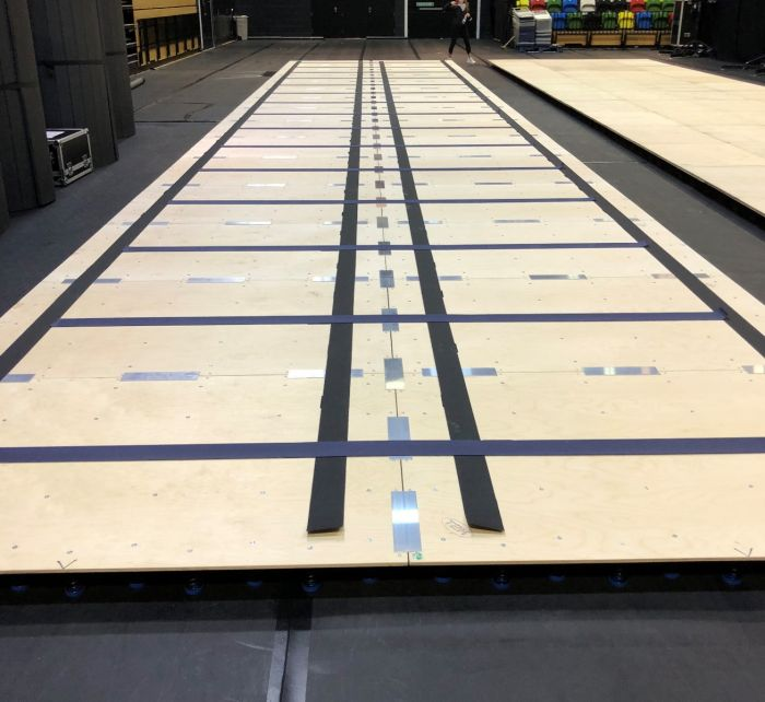 Sectional Sprung Floor