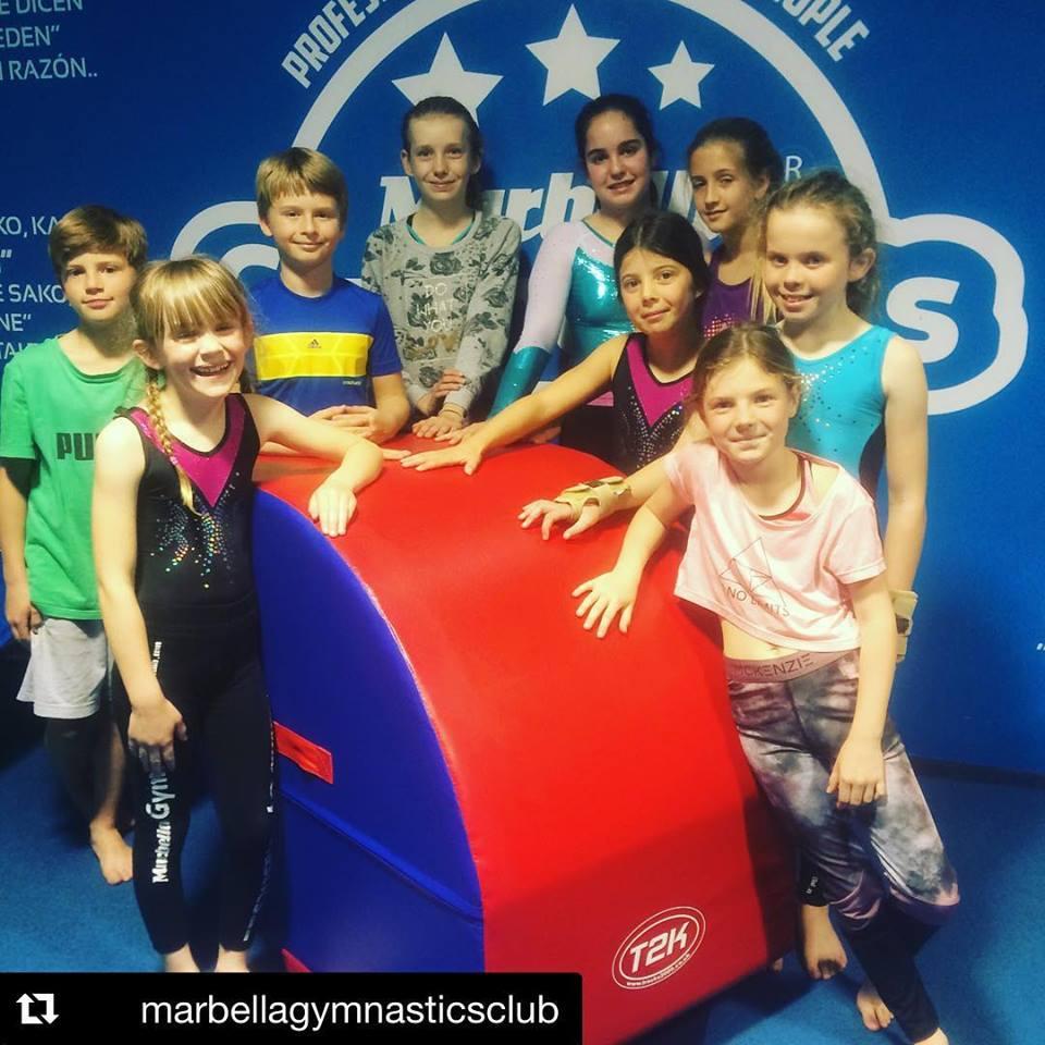 Marbella Gymnastics Top Tumbler