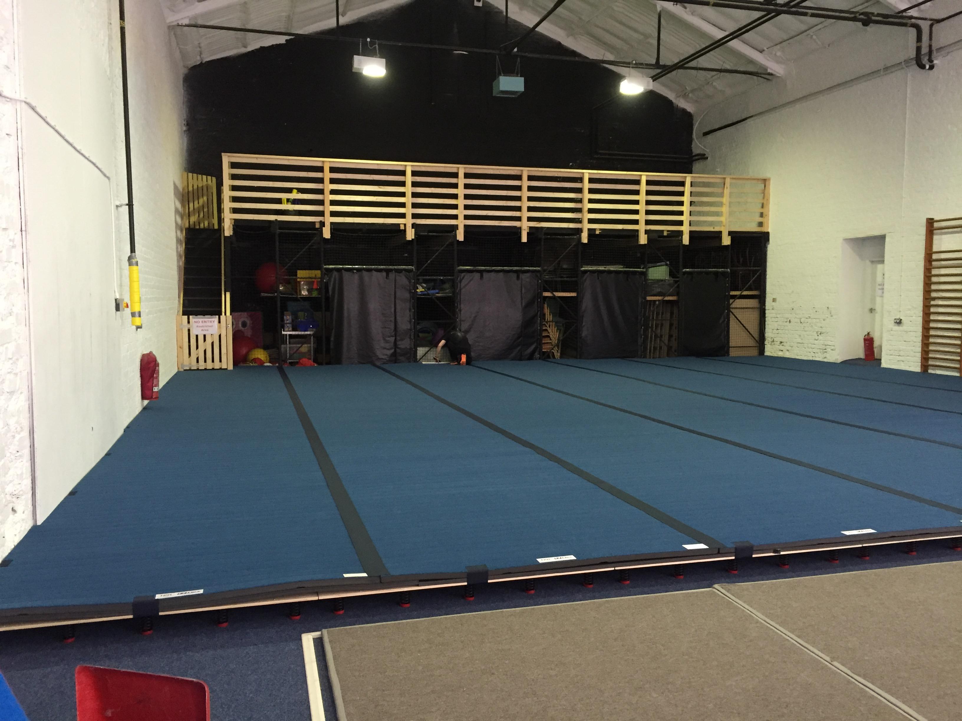 Gymnastics Sprung Floor